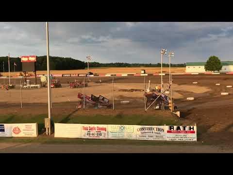 Attica Raceway Park Sprint Heat Races 7/10/2018
