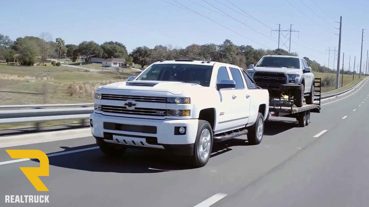 Towing Review of The 2017 Chevy Silverado 2500 HD - YouTube