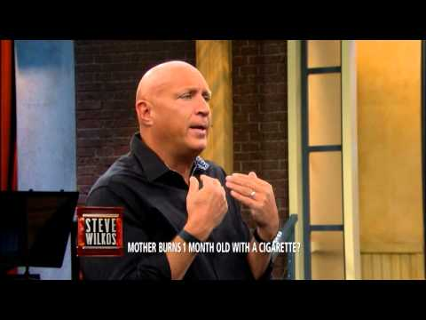 Steve Moment: Steve Confronts A Guilty Mother (The Steve Wilkos Show)