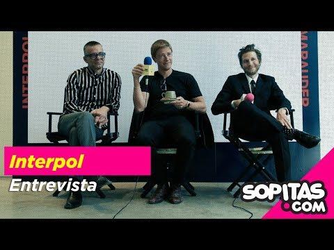 Interpol En Entrevista Y Platica De Su Disco Marauder En Sopitas.com