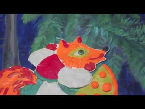 Изображение предпросмотра прочтения – СветославПрямиков читает произведение «Ворона и Лисица» И.А.Крылова