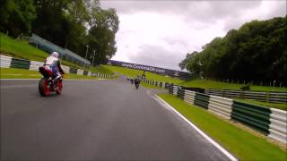 Cadwell Park No Limits bike track day - my only attempt at a proper overtake