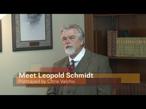 Schmidt House History Talks - Meet Leopold Schmidt