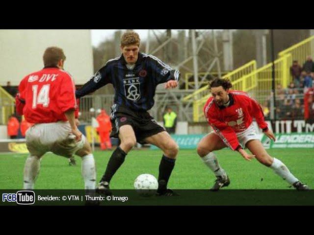 1997-1998 - Jupiler Pro League - 18. Club Brugge - AA Gent 2-1