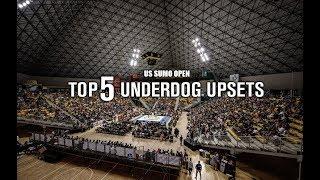 US SUMO OPEN: TOP 5 -- UNDERDOG UPSETS