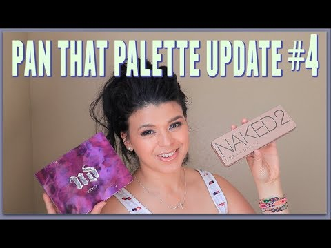 Pan that Palette Update #4 | Urban Decay Naked 2 & Vice 2