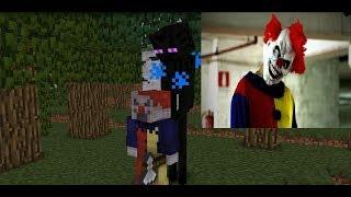 Monster School : Killer Clown Horror Challenge  - Minecraft Animation
