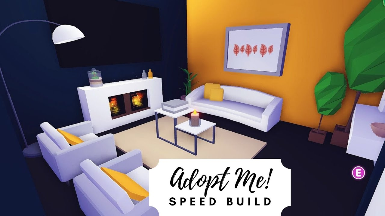 Modern Family Home Speed Build Roblox Adopt Me Youtube
