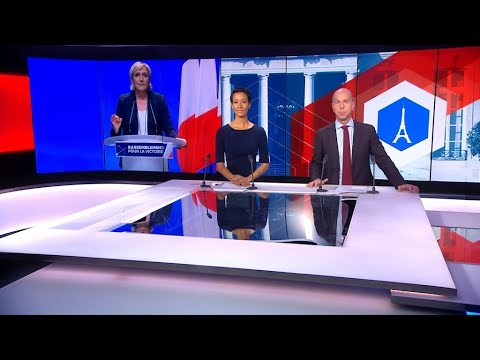 France's far-right National Front party unveils new name