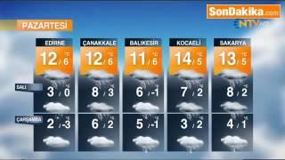 Meteoroloji İstanbul İçin Saat Verip Uyardı