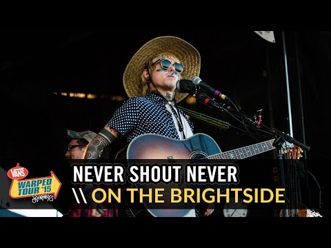 Never Shout Never - On The Brightside (Live 2015 Vans Warped Tour)
