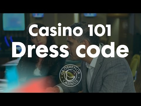 Dress code at Grosvenor Casinos