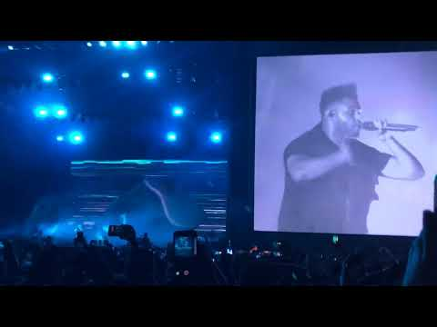 The Weeknd Pray for me/Starboy Lollapalooza 2018 Chicago IL