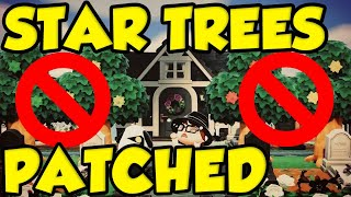 Animal Crossing New Horizons STAR TREES REMOVED! Animal Crossing Community IMPLODES! #ACNH