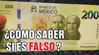 Conoce las medidas de seguridad de los nuevos billetes de 200 pesos