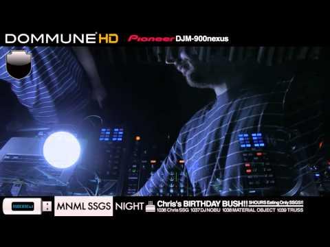 Truss, Material Object, DJ Nobu Live @ Dommune (Part 1)
