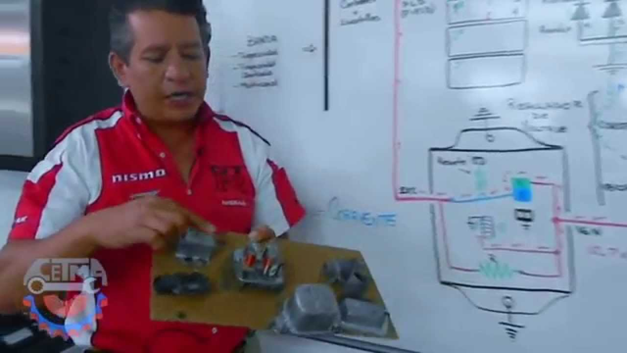 Diagrama El 233 Ctrico Alternador 1 3 Youtube