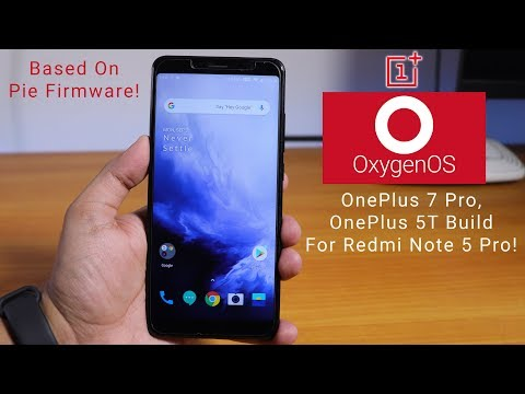 Repeat How To Flash OxygenOS On Redmi Note 5 Pro || Pie