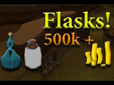 Runescape Flask And Crystal Flasks.