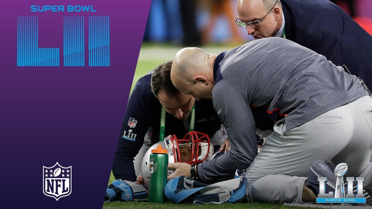 Brandin Cooks Leaves Game After Hit from Malcolm Jenkins | Eagles vs   Patriots | Super Bowl LII News