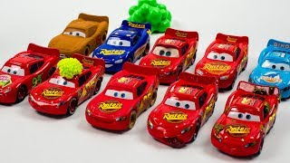 Lightning McQueen Multiplier Clones Everywhere Disney Cars Toys Movies - ACTION thumbnail