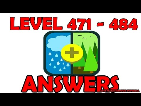 Pic Combo Level 471 - 484 - All Answers - Walkthrough ( By LOTUM media GmbH )
