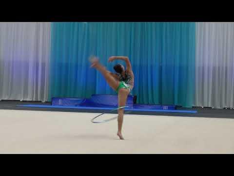 Narine Grigorjan EST hoop Winter Princess 2019