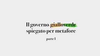 Il Governo Gialloverde Spiegato per Metafore (parte1)