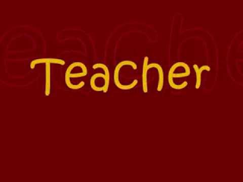 Jethro Tull Teacher with s