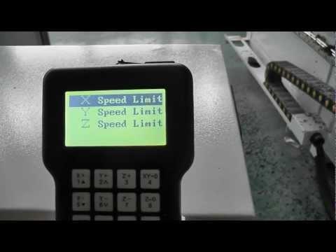 1325 cnc router DSP setup parameter, china cnc router, china cnc machine