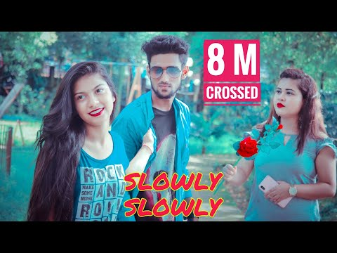 Download Lagu  Slowly Slowly | Ishare Tere | Guru Randhawa | Pitbull | Cute love story | Rupam Roy Mp3 Free