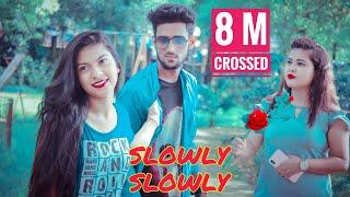 slowly-slowly-ishare-tere-guru-randhawa-pitbull-cute-love-story-rupam-roy