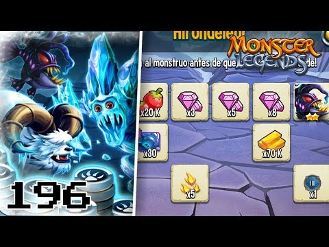 VUELVE el RETO 72H!! HIRONDELEOR, FROSTBITE y FURHEM! - Monster Legends #196