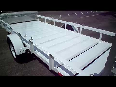 2002 Zieman 5x14 Utility Trailer For Sale
