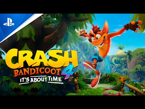 Crash Bandicoot 4: It's About Time – Gameplay tráiler PS4 en ESPAÑOL | PlayStation España