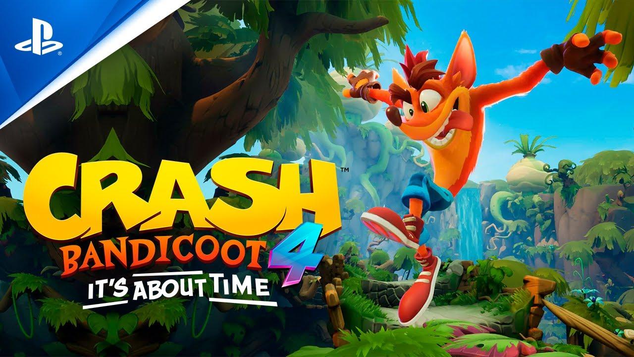 Crash Bandicoot 4: It's About Time – Gameplay tráiler PS4 en ESPAÑOL | PlayStation España