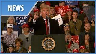 Trump shares perk of being president, says election about 'Kavanaugh, caravan, common sense'