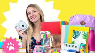 ACHATS DE FOURNITURES SCOLAIRES + GIVEAWAY! | BACK TO SCHOOL 2018