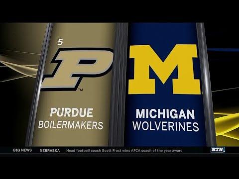 Purdue at Michigan - Men's Basketball Highlights