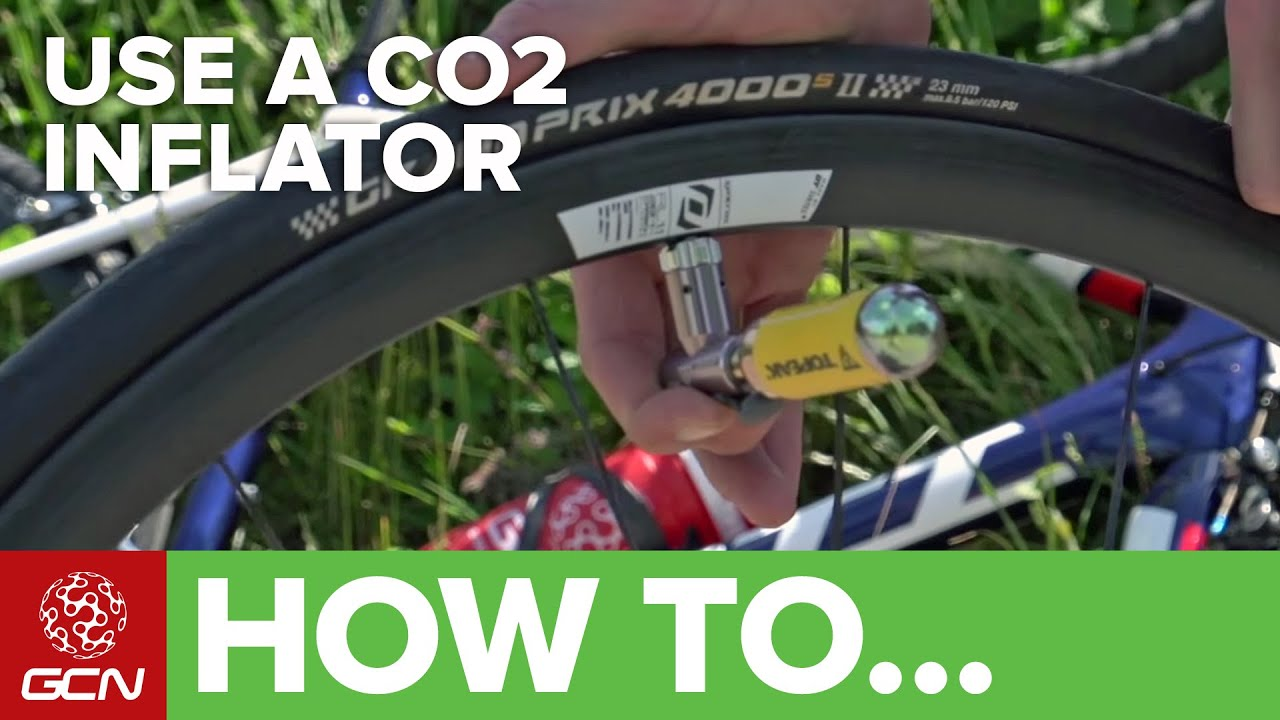 59c10f2c895 How To Use A CO2 Cartridge To Inflate A Bike Tyre - YouTube