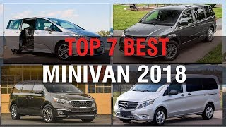 TOP 7 BEST MINIVAN VEHICLE 2018
