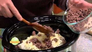 Cold-Weather Crock Pot Lasagna