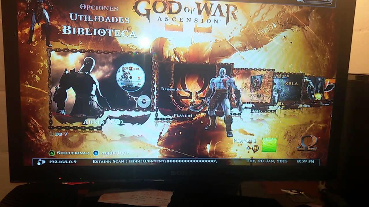 Disco Duro De 500 Gb Lleno De Juegos Xbox 360 5 0 Rgh Youtube
