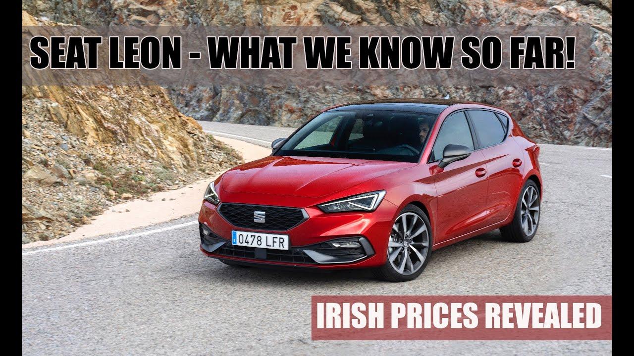 SEAT Leon new model first look | Irish prices revealed!