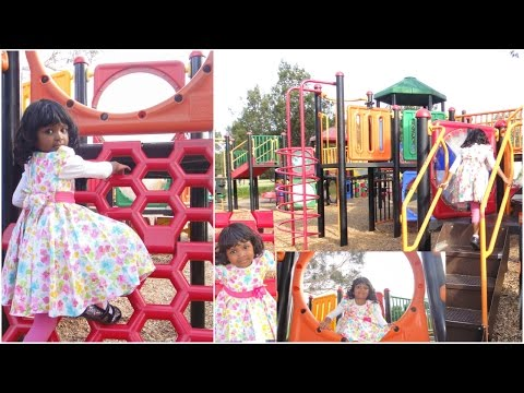 Amazing Playground Fun For Kids - Packer Park In Melbourne