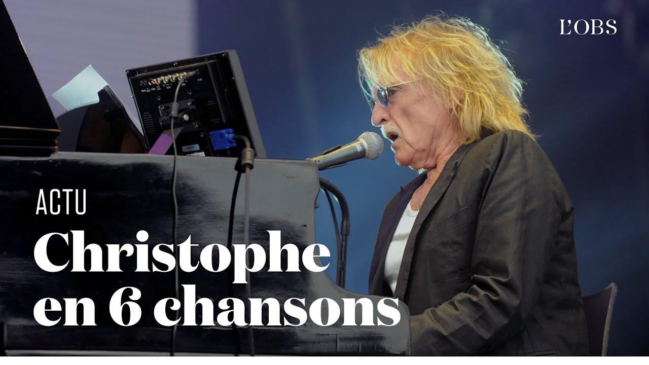 """Christophe en six chansons, de """"Aline"""" à """"Comme Un Interdit"""""""