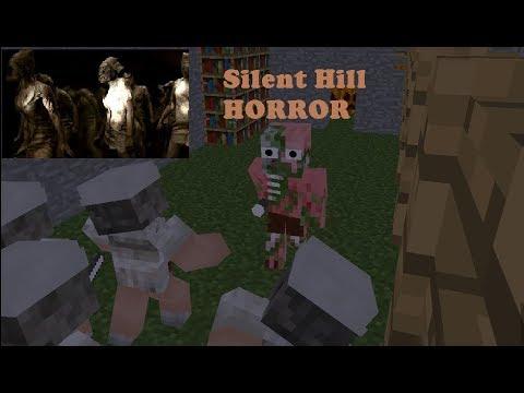 Monster School : SILENT HILL HORROR GAME CHALLENGE - Minecraft Animation