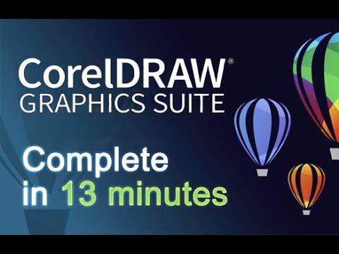 Download CorelDRAW - Tutorial for Beginners in 13 MINUTES!  [ 2021 COMPLETE ]