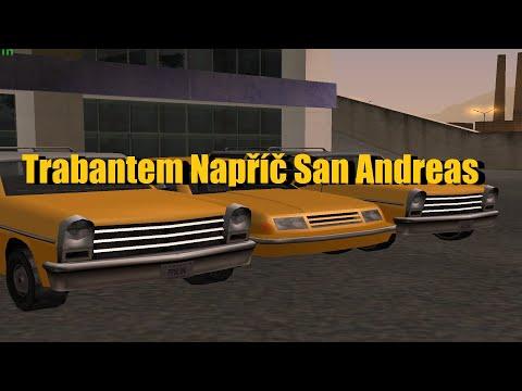 Trabantem Napříč San Andreas E01 Příprava na Cestu