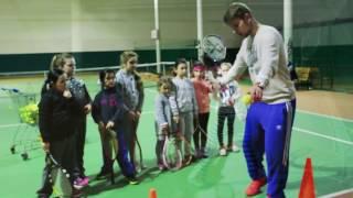 Детская тренировка по теннису | Baby - tennis от 3-х лет | Одесса, Совиньон